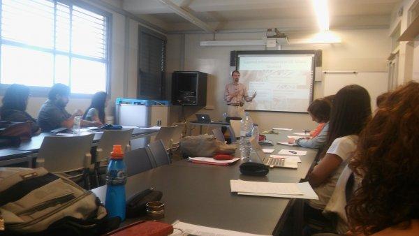 Workshop en la UdG